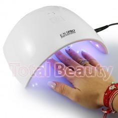 Lampa UV LED Hybrid 24W DOUBLE Light LED Alb cu Roz ENS PRO - Uscare Rapida