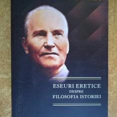 Jan Patocka - Eseuri eretice despre filosofia istoriei - Carte ezoterism