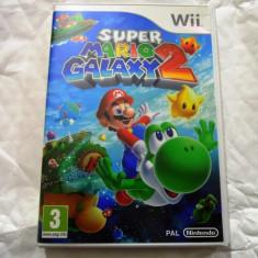 Super Mario Galaxy 2, Wii, original, alte sute de jocuri! - Jocuri WII Ubisoft, Actiune, 3+, Multiplayer