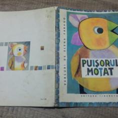 Puisorul motat - Elena Farago/ ilustratii Ethel Lucaci Baias - Carte poezie copii