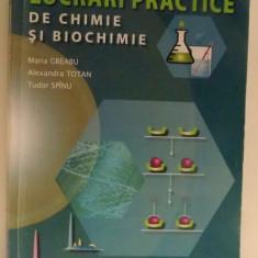 LUCRARI PRACTICE DE CHIMIE SI BIOCHIMIE de MARIA GREABU ... TUDOR SPINU, 2012 - Carte Chimie