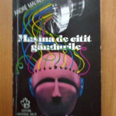 K0c Masina De Citit Gandurile - Andre Maurois - Carte SF
