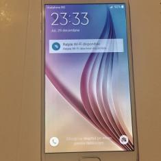 Samsung Galaxy S6 - Telefon mobil Samsung Galaxy S6, Alb, 32GB, Neblocat