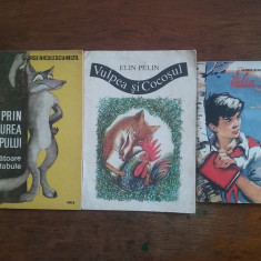 Lot 3 carti de povesti / R6P3F - Carte de povesti