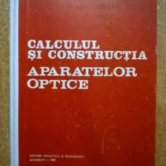 P. Dodoc - Calculul si constructia aparatelor optice