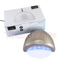 Lampa UV LED Hybrid 48W DOUBLE Light LED Auriu - Uscare Rapida