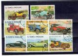 Sao Tome - automobile 1983 serie stampilata, Transporturi