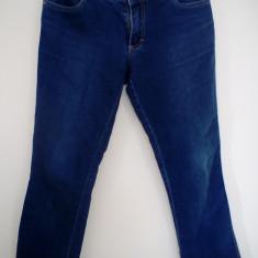 Blugi elastici, masura 38 - Blugi dama Made in Italia, Culoare: Albastru