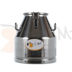 Bidon de transport lapte 20 L din inox cu capac EMT50.20S