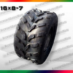 CAUCIUC ATV 16X8-7 ANVELOPA ATV 16x8x7 in V - Anvelope ATV