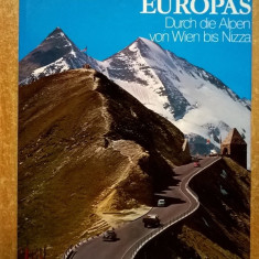 Dieter Seibert - Traumstrasse Europas - Carte in germana