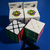 Cub Rubik 3x3x3 YJ YiLeng Fisher Cube v2 57mm - Jocuri Logica si inteligenta
