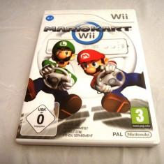 Mario Kart + 2 volane, Wii, original, alte sute de jocuri! - Jocuri WII Ubisoft, Actiune, 3+, Multiplayer