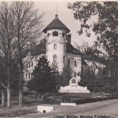TARGOVISTE LICEUL MILITAR NIC. FILIPESCU CUIBUL SOIMILOR FOTO M. VESA O.N.E.F. - Carte Postala Muntenia dupa 1918, Necirculata, Fotografie