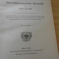 MONARHIA AUSTRO-UNGARA - STEIERMARK - COMPLETA - 1890