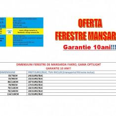 FERESTRE DE MANSARDA - Fereastra