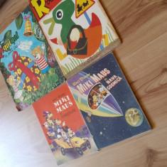 Carti Walt Disney romana, Riquiqui et Roudoudou franceza, carti ilustrate. - Reviste benzi desenate Altele