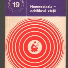 (C7431) HOMEOSTAZIA - ECHILIBRUL VIETII DE EMIL BITTMAN