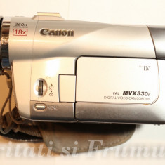 CAMERA VIDEO MINI-DV CANON MVX330i, 10-20x