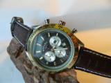 Ceas barbatesc  ROTARY  Chronograph cu data, Elegant, Quartz, Inox