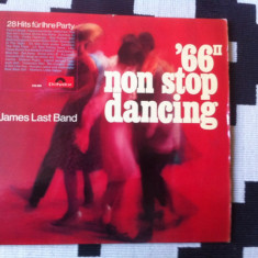 James last band non stop dancing 66 vol II disc vinyl lp muzica pop jazz germany, VINIL