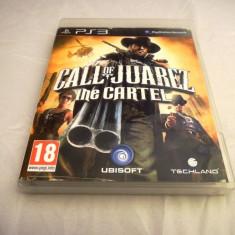 Call of juarez The Cartel, PS3, original, alte sute de jocuri! - Jocuri PS3 Sony, Shooting, 16+, Single player