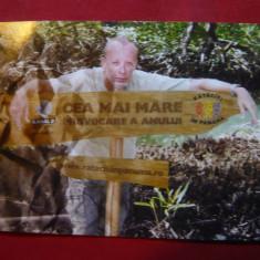 Ilustrata Reclama Emisiune TV - Rataciti in Panama cu Andrei Gheorghe - Reclama Tiparita
