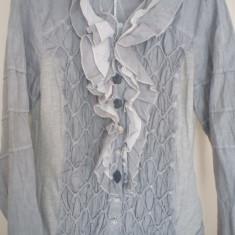 Camasa bbc. si vascoza - Bluza dama Made in Italia, Marime: M/L, Culoare: Gri