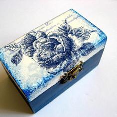 cutie lemn decorata 22701