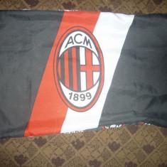 Fata Perna - Suporteri Fotbal Echipa AC Milan - Italia, 70x48 cm - Fata de perna