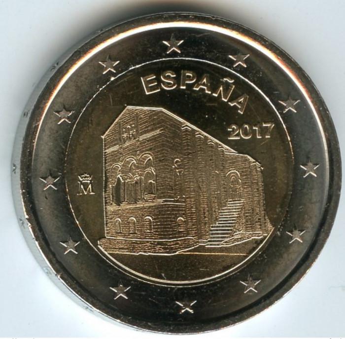 2 euro comemorativa SPANIA 2017 - UNC