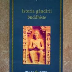 Edward J. Thomas - Istoria gandirii Buddhiste - Carte ezoterism
