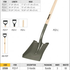Lopata din otel tratat termic Truper PCD-L