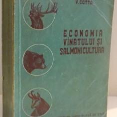 ECONOMIA VANATULUI SALMONICULTURA de V. COTTA, 1956