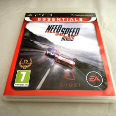 Joc Need For Speed NFS Rivals, PS3, original, alte sute de jocuri! - Jocuri PS3 Altele, Curse auto-moto, 12+, Single player