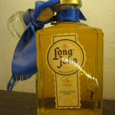 Whisky, LONG JOHN, DECANTER, finest scotch wisky, macdonald, cl.70 gr.40 ani 80