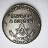 Medalie / placheta masonica - Masonerie: Conventul de la Constanta