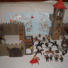 Playmobil Castle - medieval 3446+6412 Castel cu cavaleri si turn