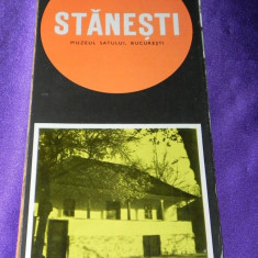 PLIANT MUZEUL SATULUI - CASA STANESTI, JUD ARGES text romana