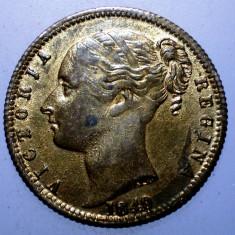 2.062 MAREA BRITANIE ANGLIA VICTORIA JETON TO HANOVER 1837 1849 22mm - Jetoane numismatica