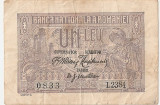 ROMANIA 1 LEU 1915 VF
