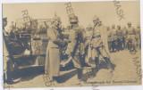 913 - FOCSANI-ODOBESTI, German King, G-ral Mackensen - old PC, real PHOTO unused, Necirculata, Printata