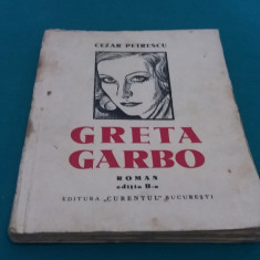 GRETA GARBO* CEZAR PETRESCU/DESENE N.N. TONITZA/ ANII 1930