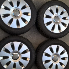 Jenti aliaj originale AUDI A3, A4, A6, model SpeedLine pe R16 cu 5zx112 - Janta aliaj Audi, 6, 5, Numar prezoane: 5