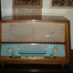 Radio SCHAUB WS41- GERUFON STEREO 62W-TERTA T425-pe lampi - Aparat radio