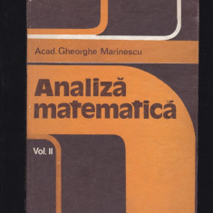 Analiza matematica 8 carti - Carte Matematica