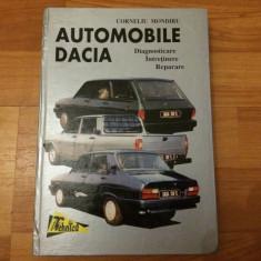 AUTOMOBILE DACIA - CORNELIU MONDIRU - Carti auto