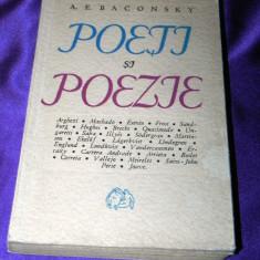 A E Baconsky - Poeti si poezie (f0595 - Studiu literar