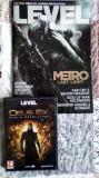 Revista LEVEL + DVD Joc full Deux Ex Human Revolution (cheie Steam folosita)