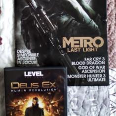 Revista LEVEL + DVD Joc full Deux Ex Human Revolution (cheie Steam folosita) - Revista IT